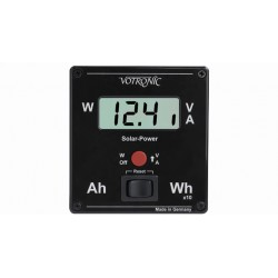 Display controllo carica solare 12V