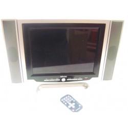 """Tv LCD 12"""" con casse asportabili"""