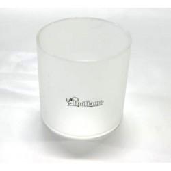 Vetro ricambio uniflame lampada diam cm. 8