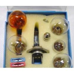 Trousse lampadine HELLA 12V. con H7
