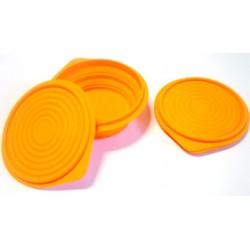 Contenitore pieghevole silicone lt. 0,5