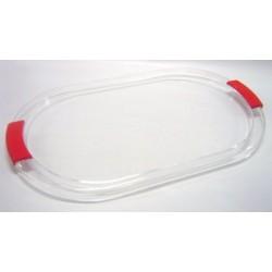 Vassoio ovale trasparente Scaroni
