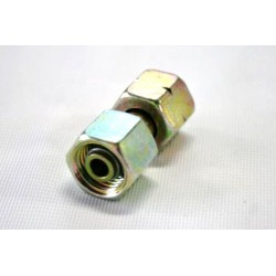 Raccordo gas dritto da mm.8/6