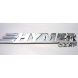 Targhetta cromata Hymer Camp