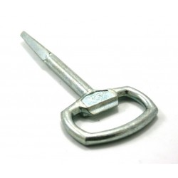 Chiave per serratura piatta