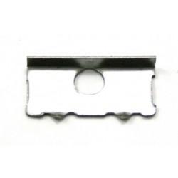 Piastrina acciaio cornice sportelli Hymer