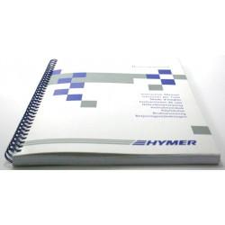 Manuale di istruzioni Hymer